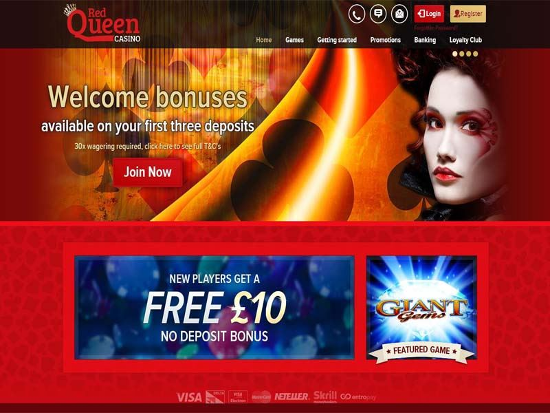 Casino preview image Red Queen Casino