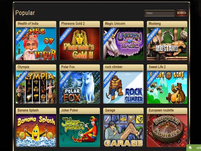 Casino preview image Faraon Casino