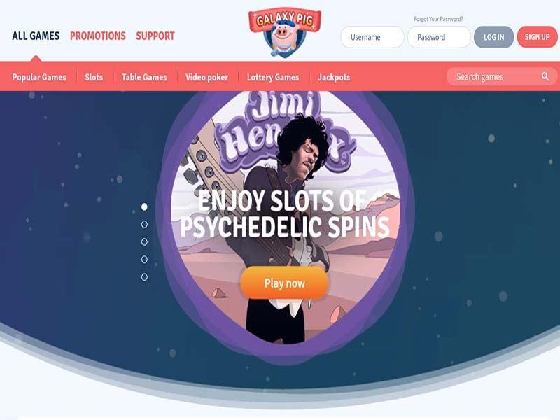Casino preview image GalaxyPig Casino
