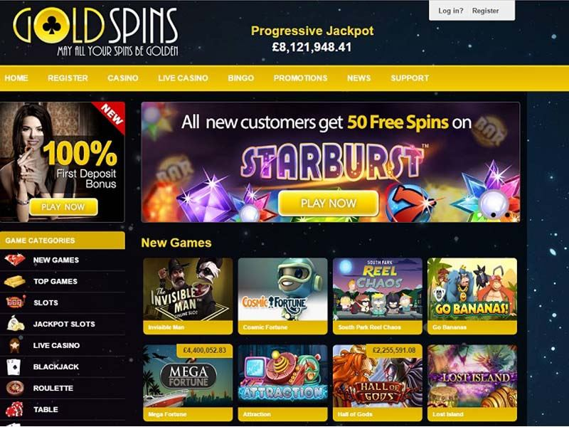 Casino preview image Gold Spins Casino