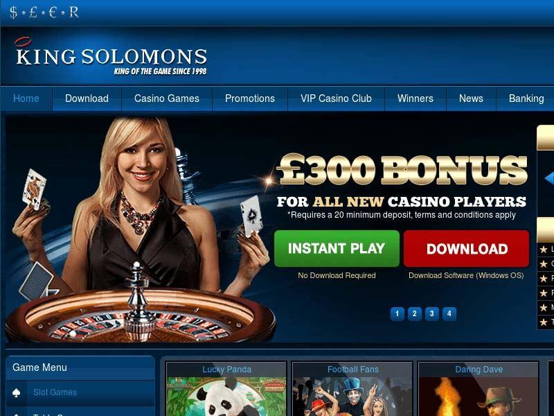Casino preview image King Solomons Casino