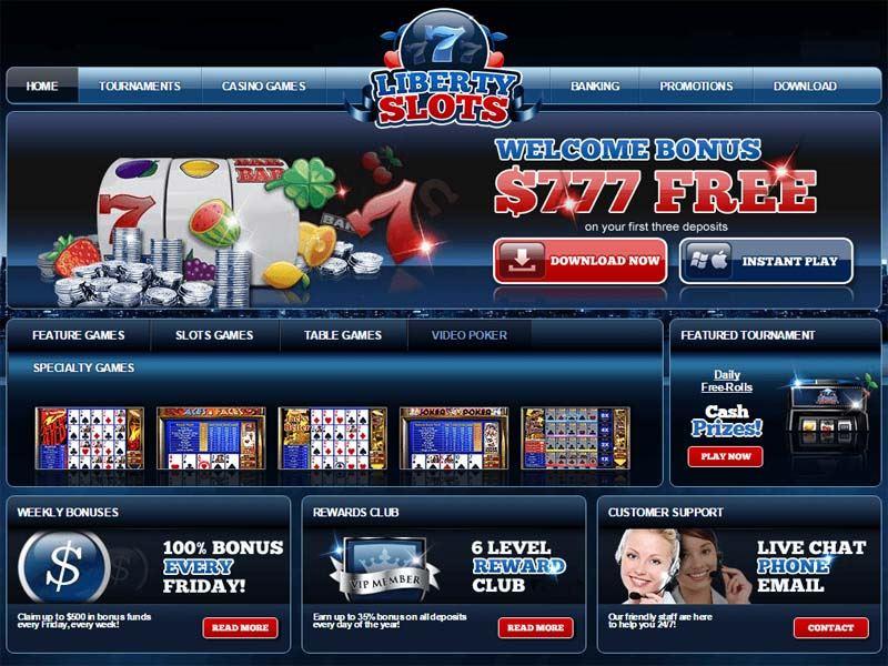 Casino preview image Liberty Slots Casino