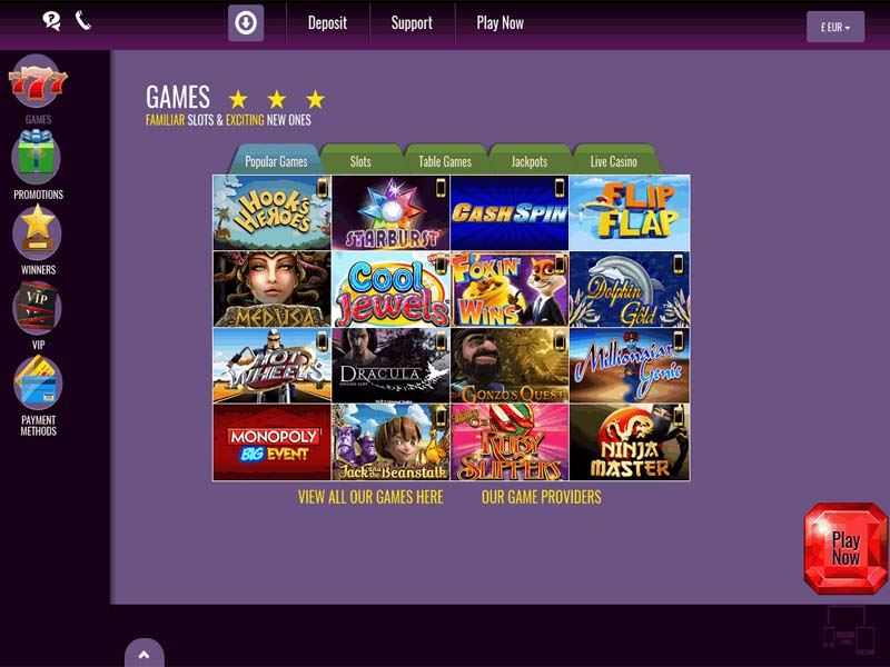 Casino preview image Slots Magic Casino
