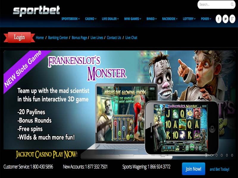 Casino preview image Sportbet Casino