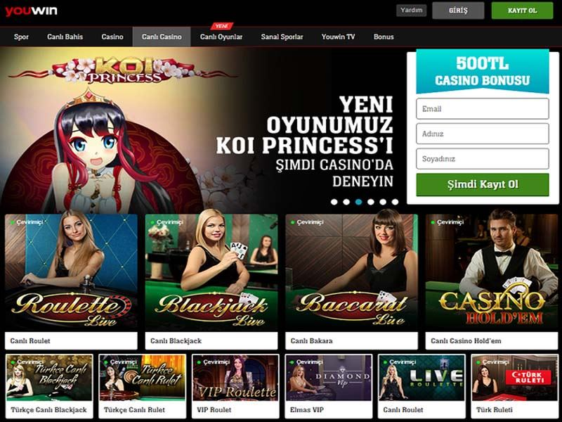 Casino preview image Youwin Casino