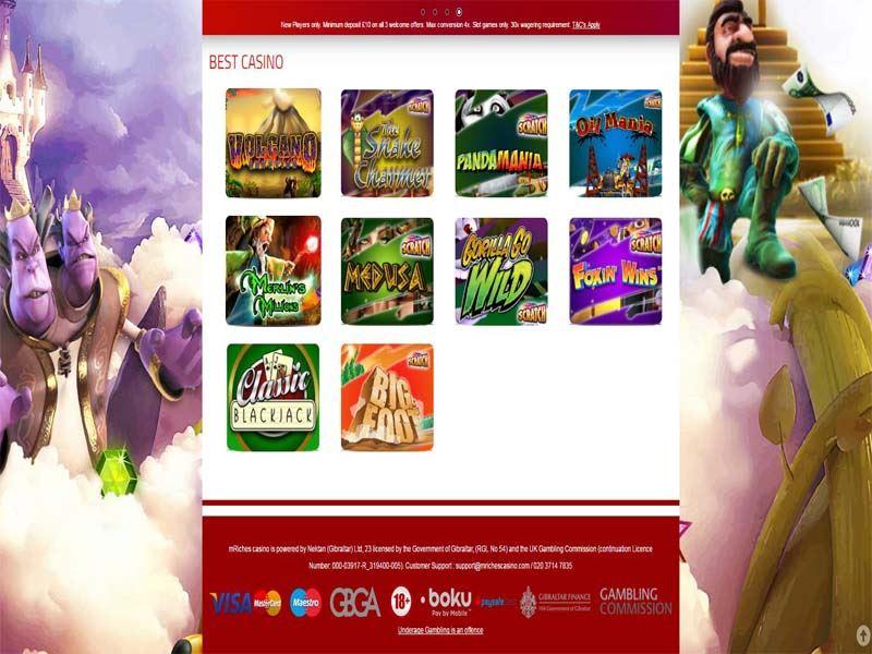 Casino preview image mRiches Casino
