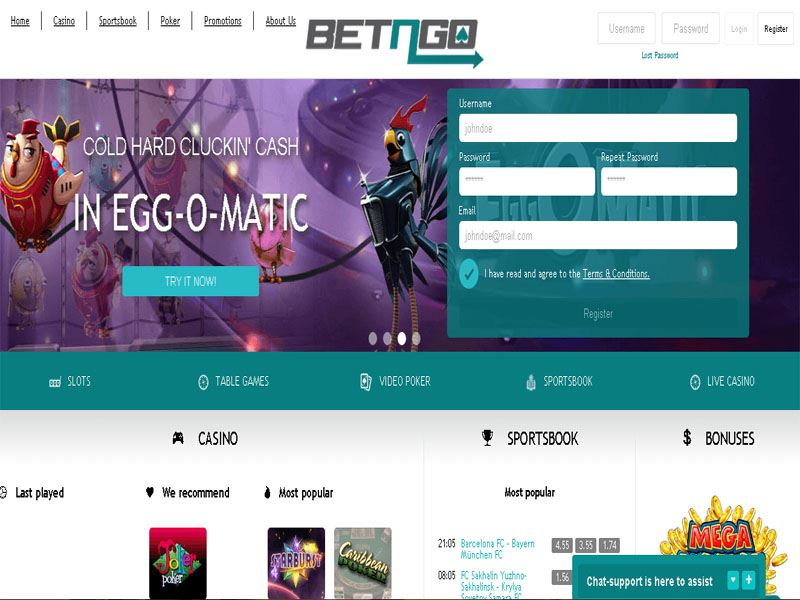 Casino preview image BetnGo Casino