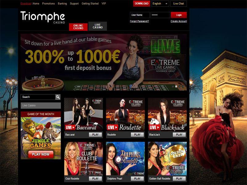 Casino preview image Casino Triomphe