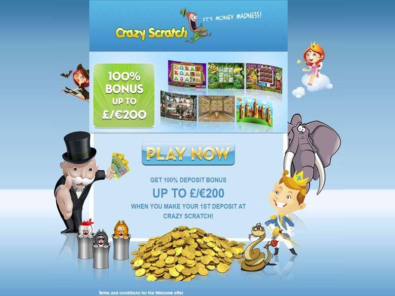 Casino preview image Crazy Scratch Casino