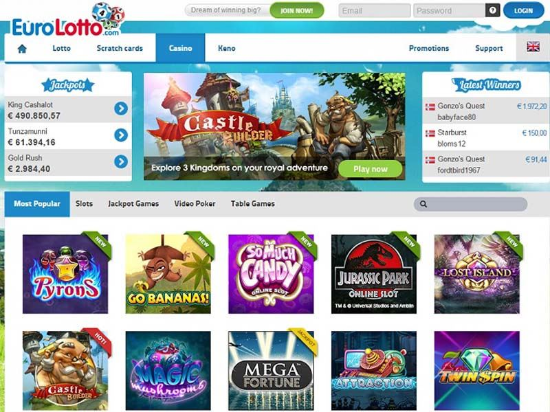 Casino preview image EuroLotto Casino