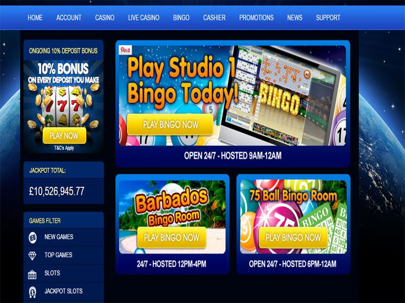 Casino preview image Huge Slots Casino