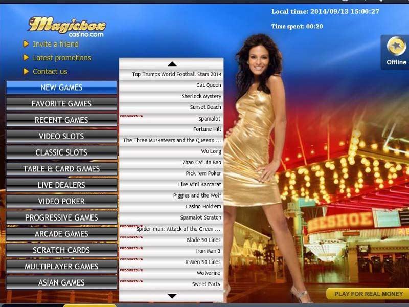 Casino preview image Magic Box Casino
