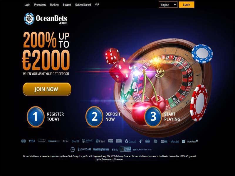 Casino preview image OceanBets Casino
