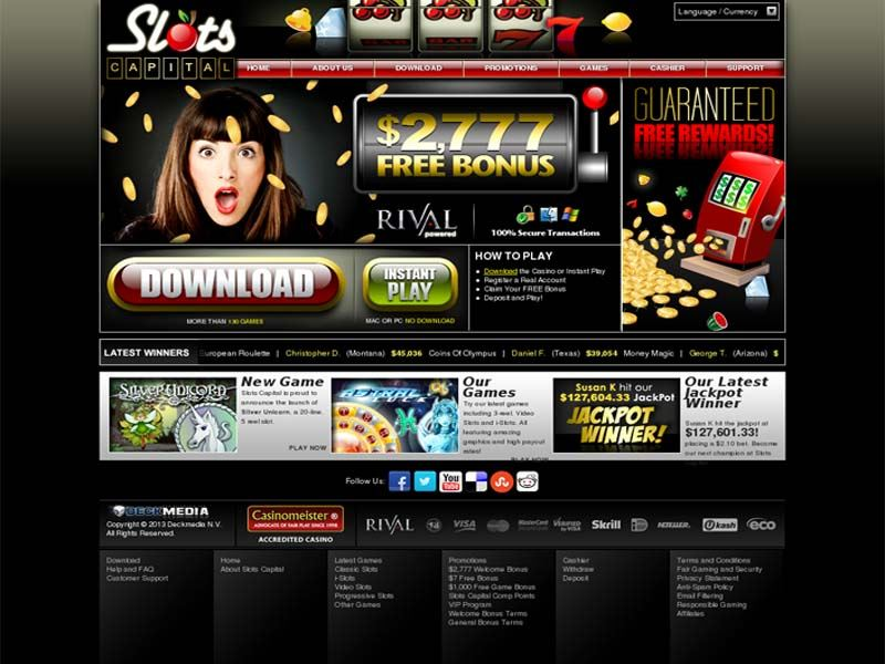 Casino preview image Slots Capital Casino