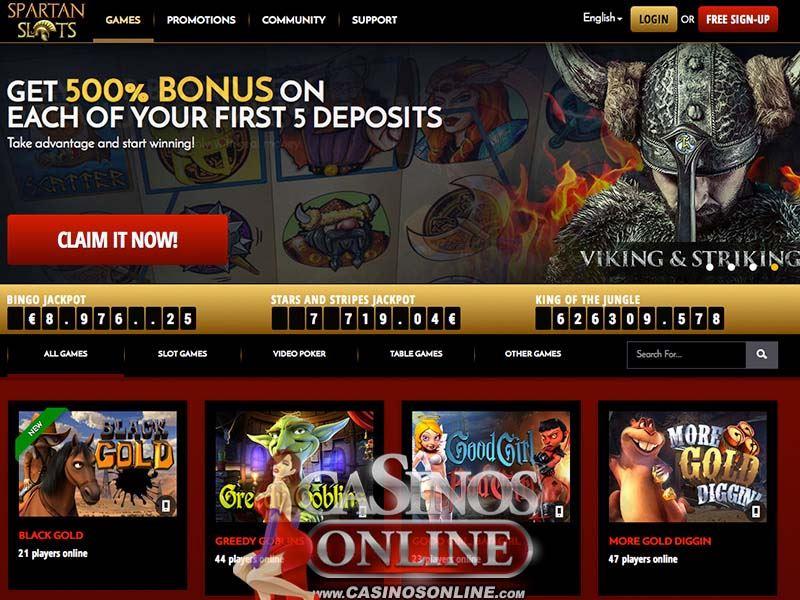 Casino preview image Spartan Slots Casino