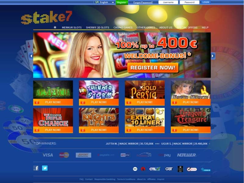 Casino preview image Stake7 Casino