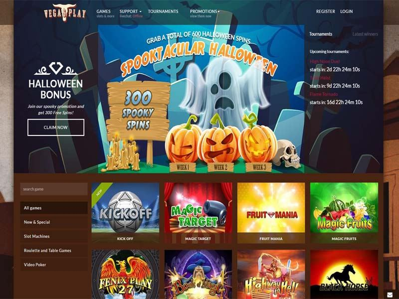 Casino preview image VegasPlay Casino