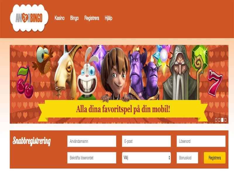 Casino preview image AmorBingo Casino