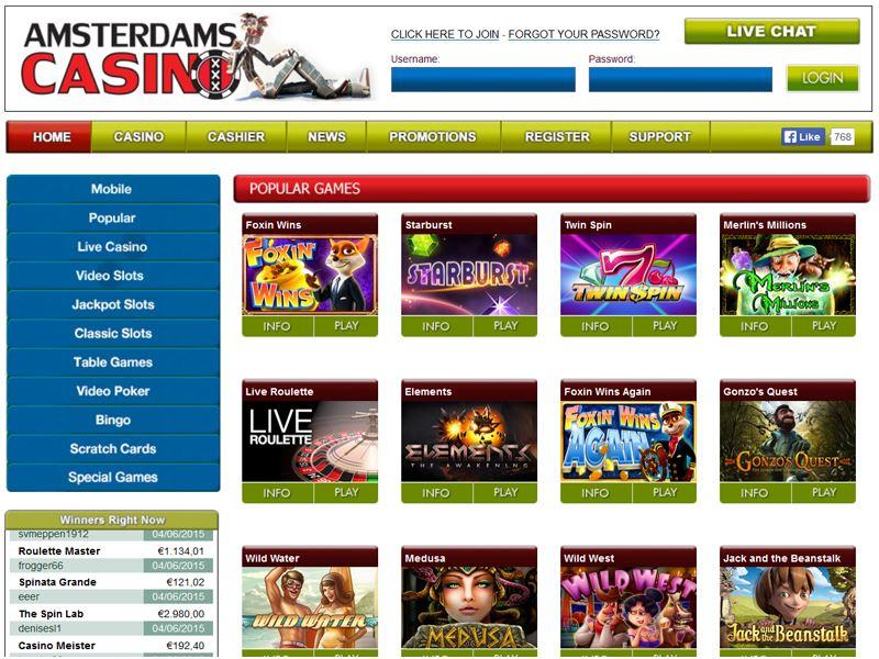 Casino preview image Amsterdams Casino