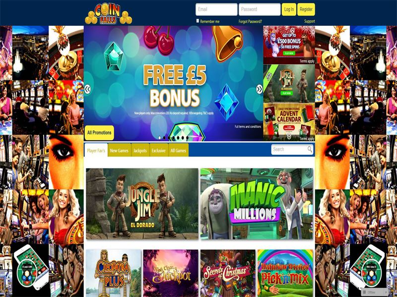 Casino preview image CoinFalls Casino
