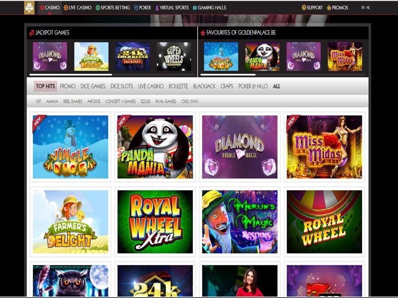 Casino preview image GoldenPalace.be Casino