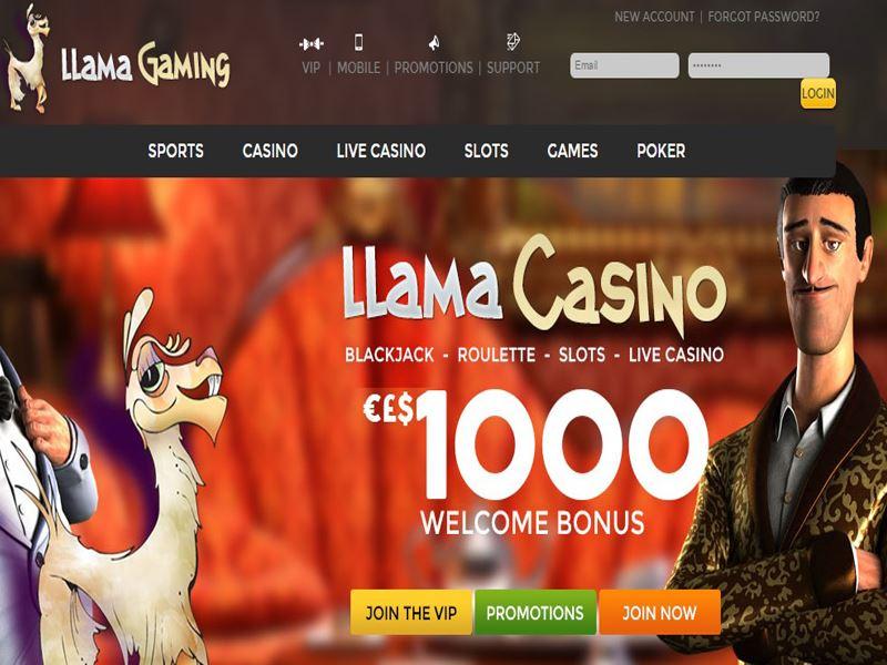 Casino preview image Llama Casino