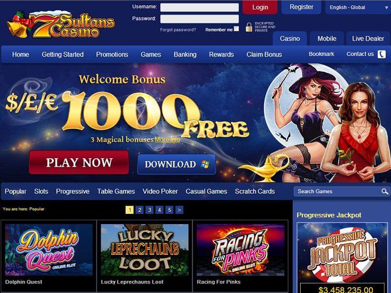Casino preview image 7 Sultans Casino