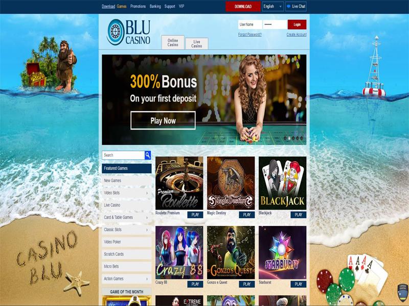 Casino preview image Casino Blu