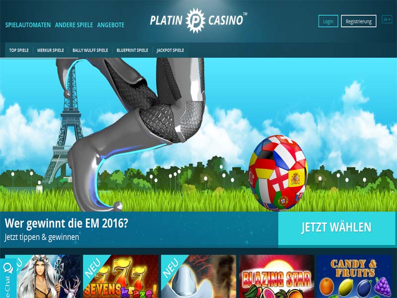 Casino preview image Platin Casino