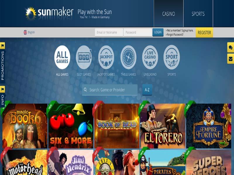 Casino preview image SunMaker Casino