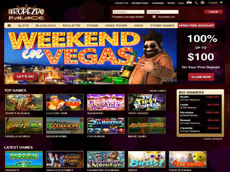 Casino preview image Tropezia Palace Casino