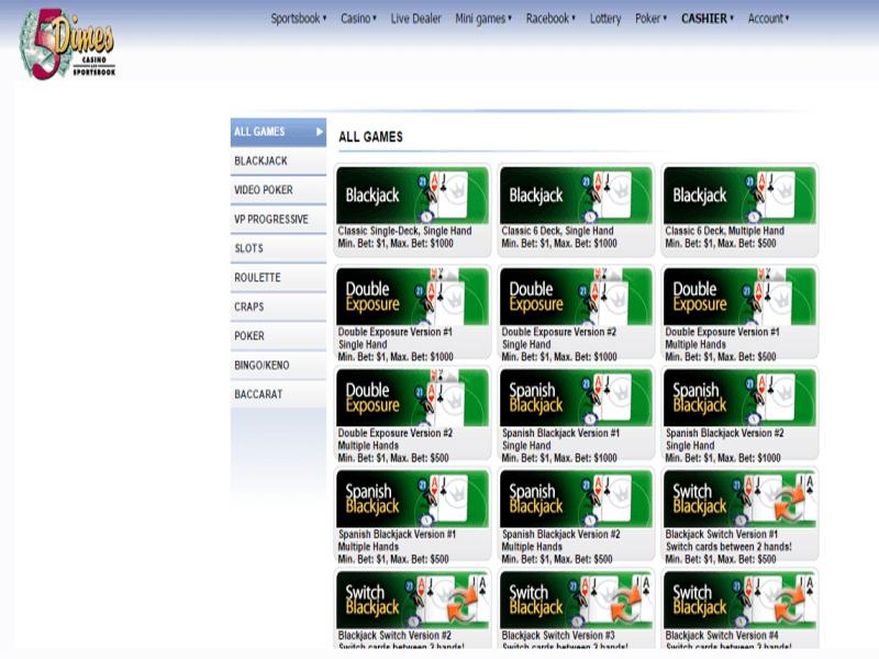 Casino preview image 5Dimes Casino