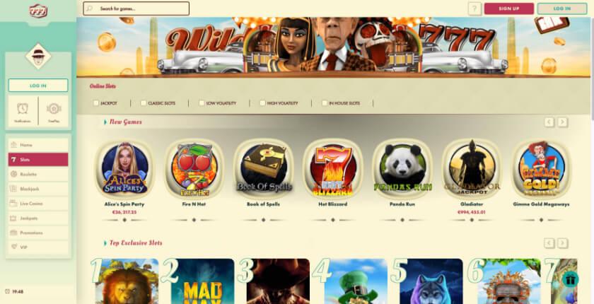 77 free spins casino bonus codes