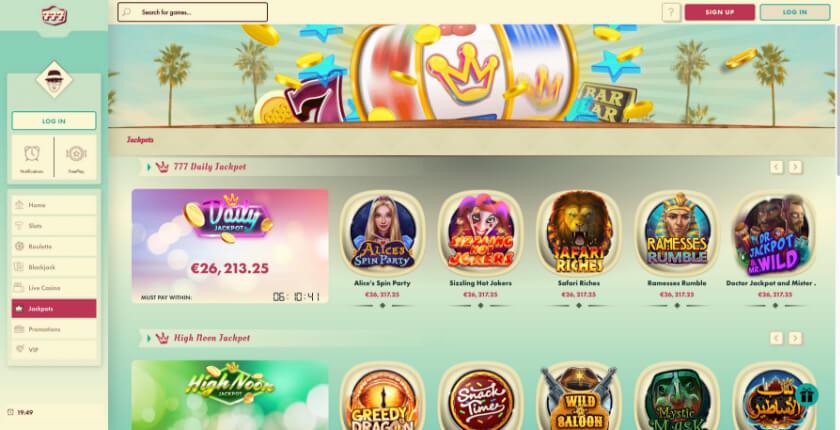 Casino preview image 777 Casino Free Spins Bonus