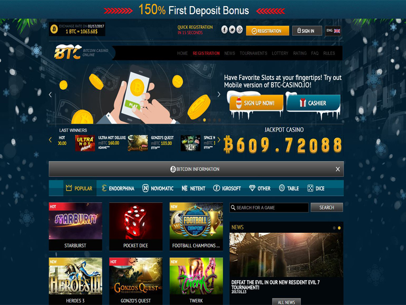 Casino preview image BTC Casino