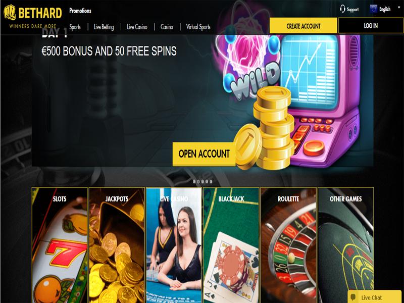 Casino preview image BetHard Casino
