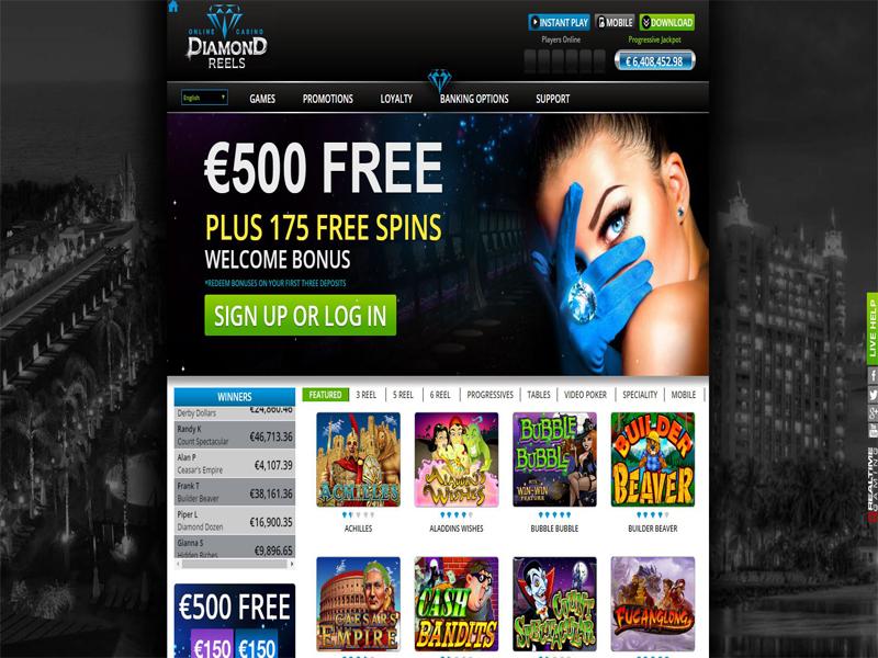 Casino preview image Diamond Reels Casino