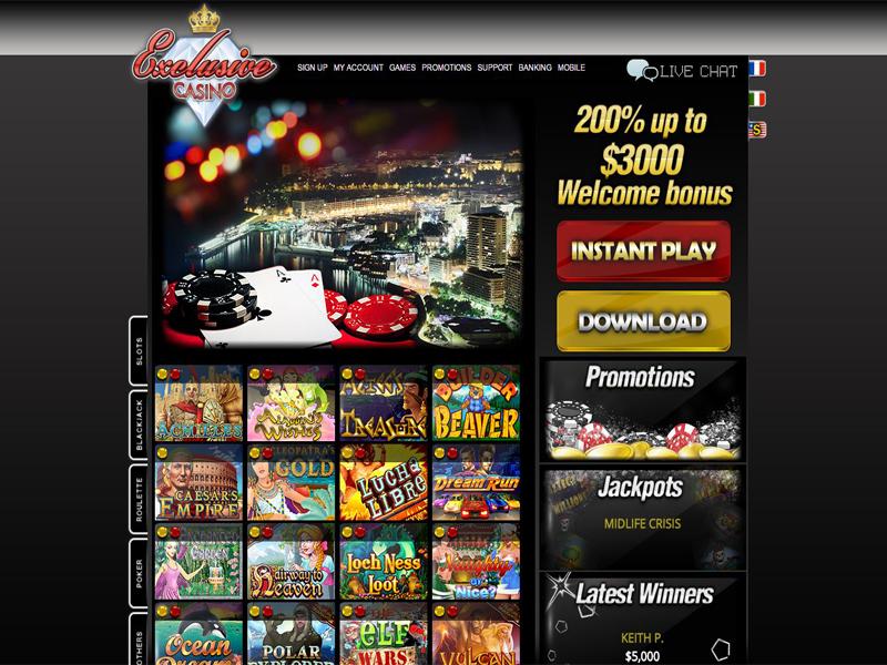 Casino preview image Exclusive Casino