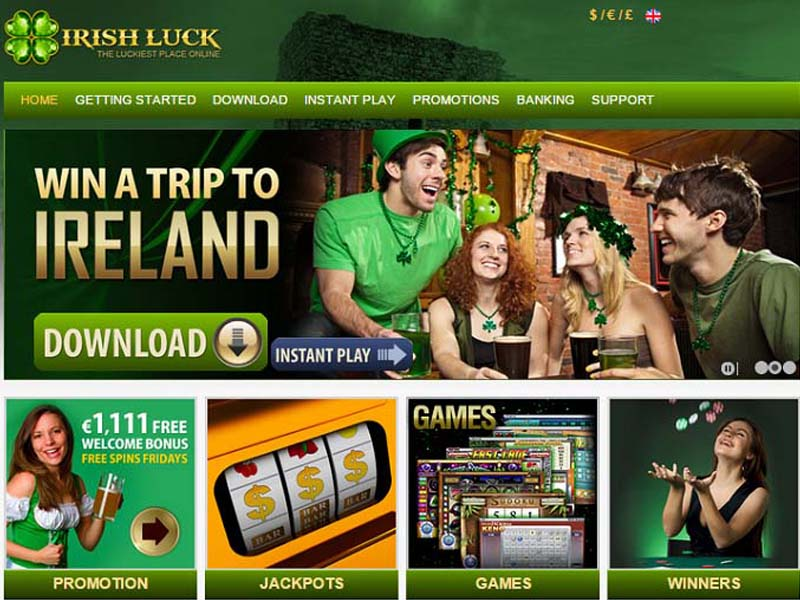 Casino preview image Irish Luck Casino