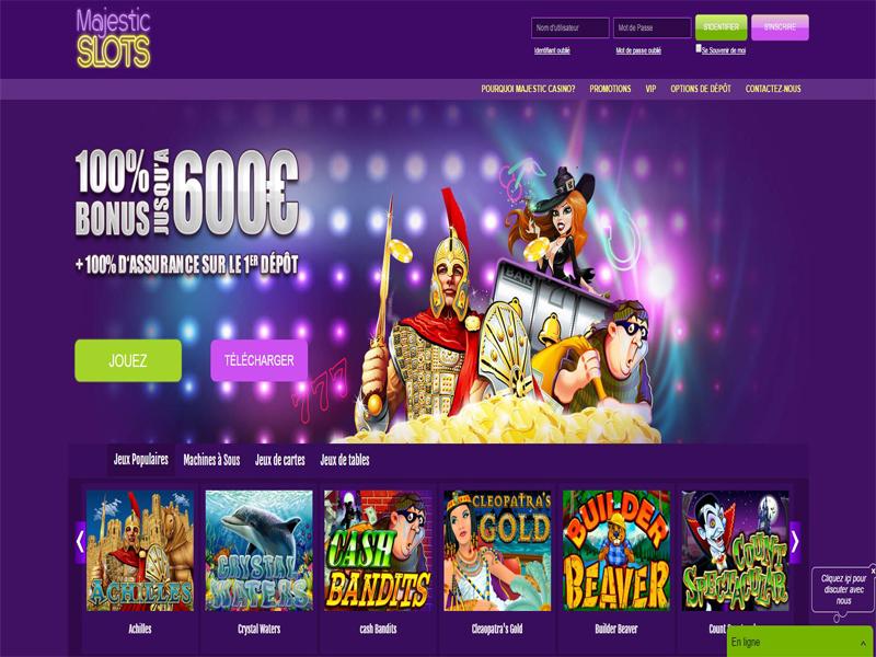 Casino preview image Majestic Slots Casino