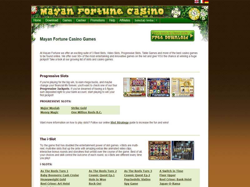 Casino preview image Mayan Fortune Casino
