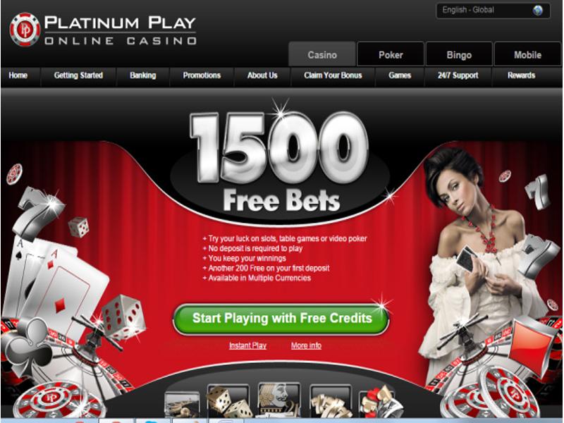 Casino preview image Platinum Play Casino