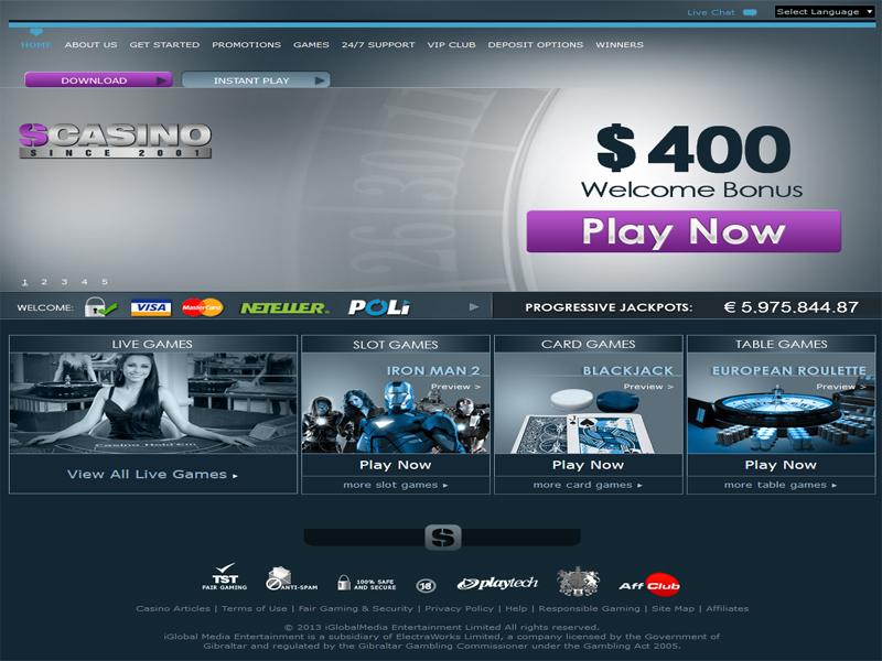 Casino preview image SCasino