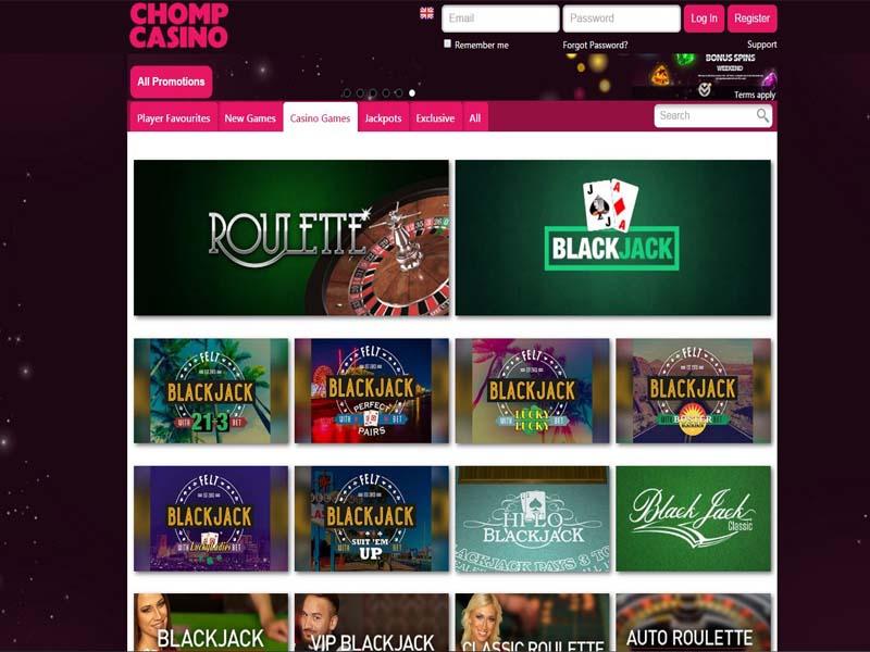 Casino preview image Chomp Casino
