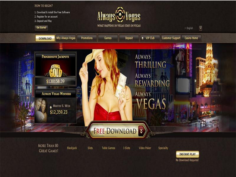 Casino preview image Always Vegas Casino
