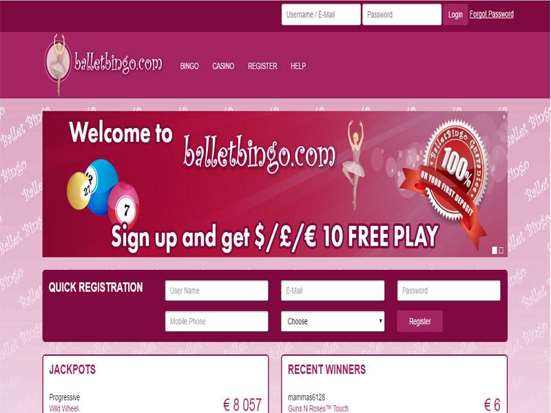 Casino preview image Ballet Bingo Casino