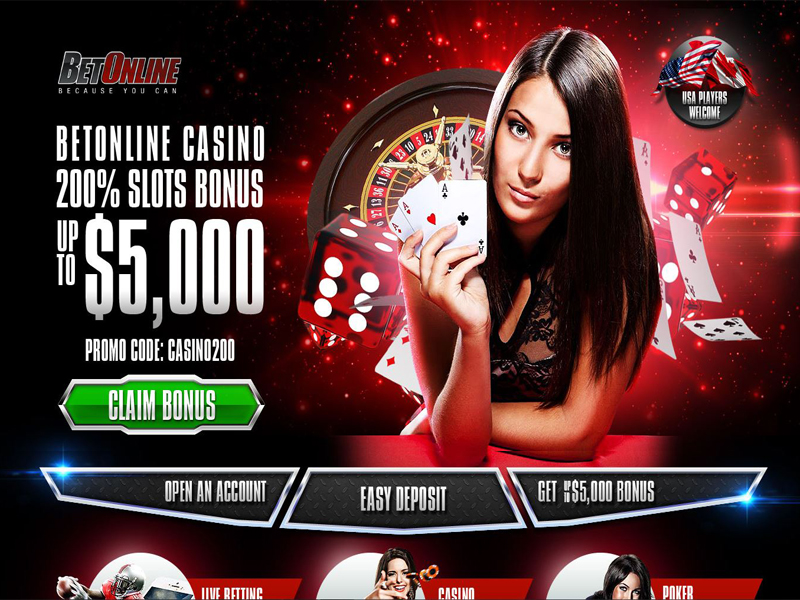Casino preview image BetOnline Casino