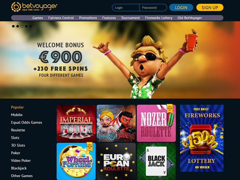 Casino preview image BetVoyager Casino