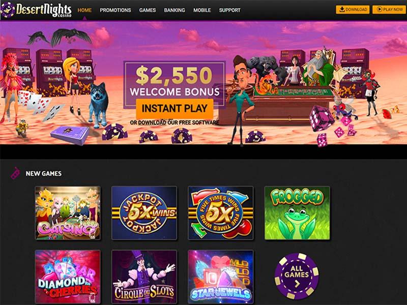Casino preview image Desert Nights Casino