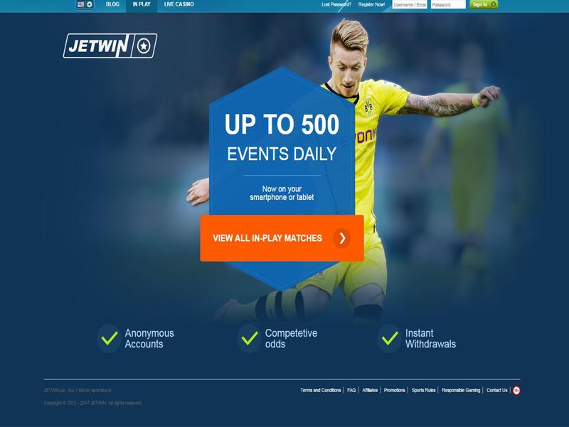 Casino preview image Jetwin Casino